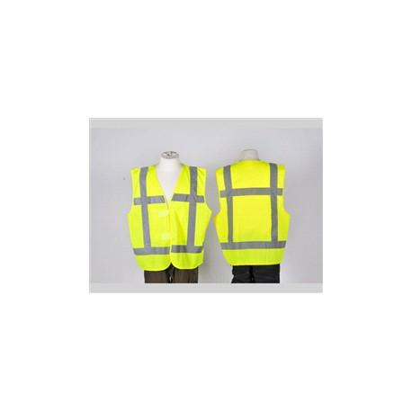 Veiligheidsvest geel met opdruk EHBO