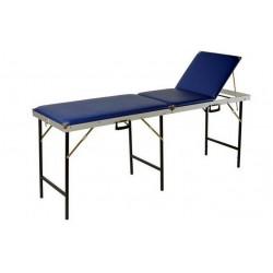 Massagebank MSP opklapbaar 3-delig 70 cm met neusuitsparing kleur zwart