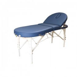 Massagebank Bestwood Ovaal de Luxe 3-delig kleur blauw