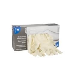 Handschoenenen Eurogloves Latex ongepoederd 100 stuks