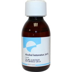 Alcohol ketonatus 70% uitwendig 110 ml