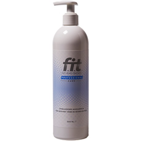 F.I.T. (Fit) Massageolie 500 ml + pomp