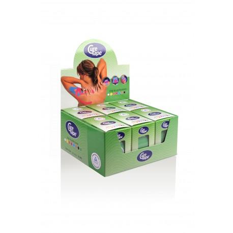 Curetape groen water-resistant 5m-5 cm 6 stuks
