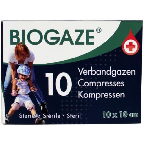Biogaze 10 x 10 cm 10 stuks