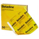 Betadine desinfectie zalfgaas 10 x 10 cm
