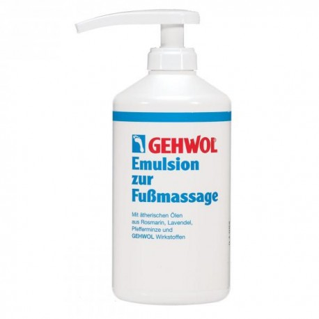 Gehwol Massage-emulsie 500 ml + pomp