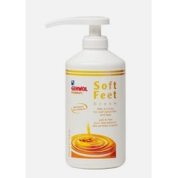Gehwol fusskraft soft feet creme 500 ml + pomp