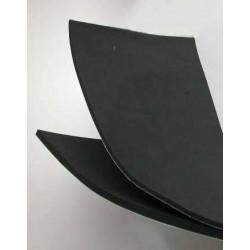 Foam niet klevend zwart 1-25-50 cm