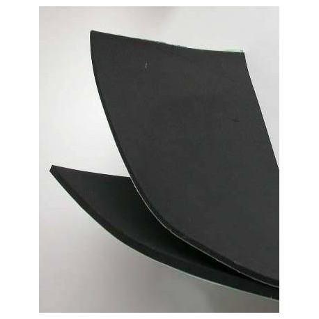 Foam niet klevend zwart 0,5-25-50 cm
