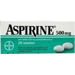 Aspirine Bayer tabl 500 mg