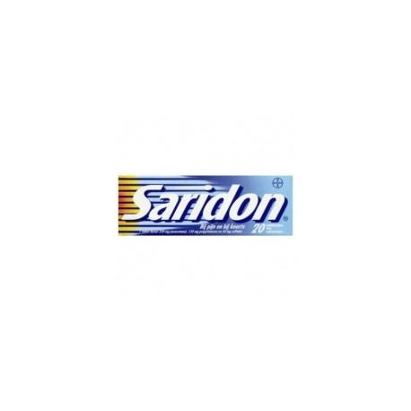 Saridon tabl 20 stuks
