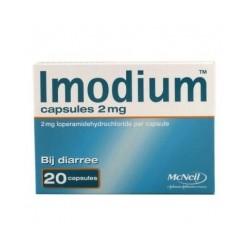 Imodium capsules 2 mg 20 stuks