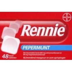 Rennie kauwtablet 48 stuks