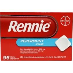 Rennie kauwtablet 96 stuks
