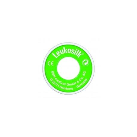 Leukosilk ringspoel 5m-2,5 cm