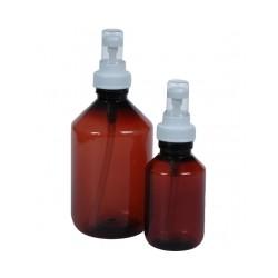 Sprayflacon 100 ml plastic bruin