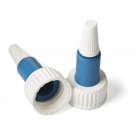 Fles glas 20 ml + Chloorbutyldop