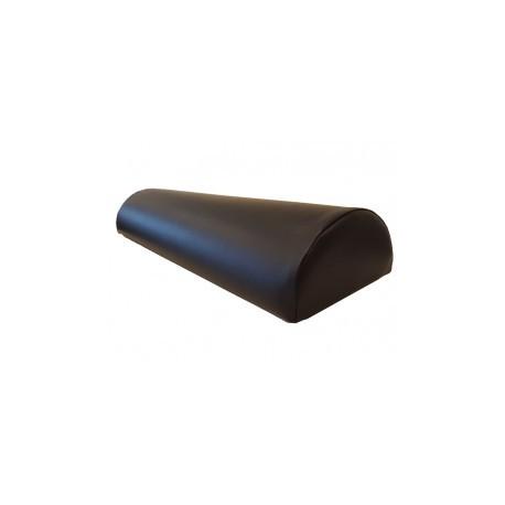 Massagerol skai halfrond 59-22-12 cm zwart