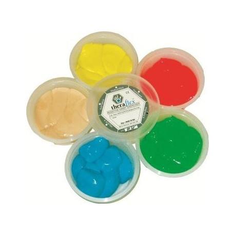 Theraflex siliconen kneedpasta 85 gram Licht (Geel)
