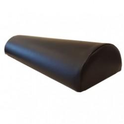 Massagerol skai halfrond 60-18-12 cm zwart
