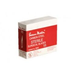 Swann Morton Scalpelmesjes  steriel 100 stuks no. 11