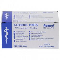 Alcohol deppers Romed 100 stuks