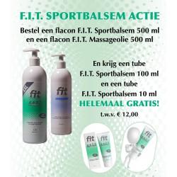 F.I.T. (Fit) Sportbalsem ACTIE