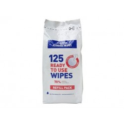 Bio Clean Alcohol Wipes large 20 x 20 cm navulling