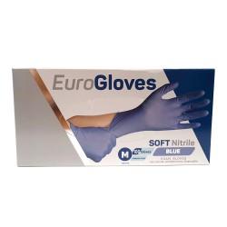 Handschoenen Eurogloves Soft Nitril ongepoederd blauw 200 stuks