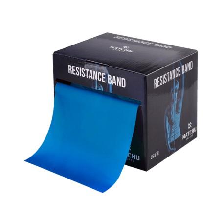 Weerstandsband blauw 25 mtr