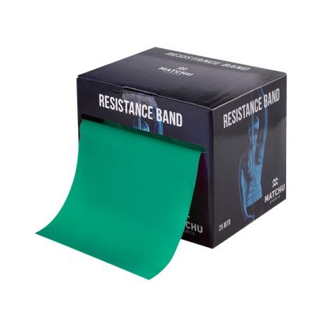 Weerstandsband groen 25 mtr