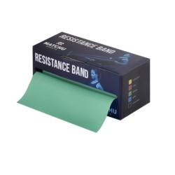 Match U oefenband 5,5 mtr x 14 cm Medium (Groen)