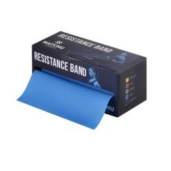 Match U oefenband 5,5 mtr x 14 cm Sterk (Blauw)