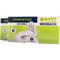 Handschoenen Merbach Soft Nitril poedervrij