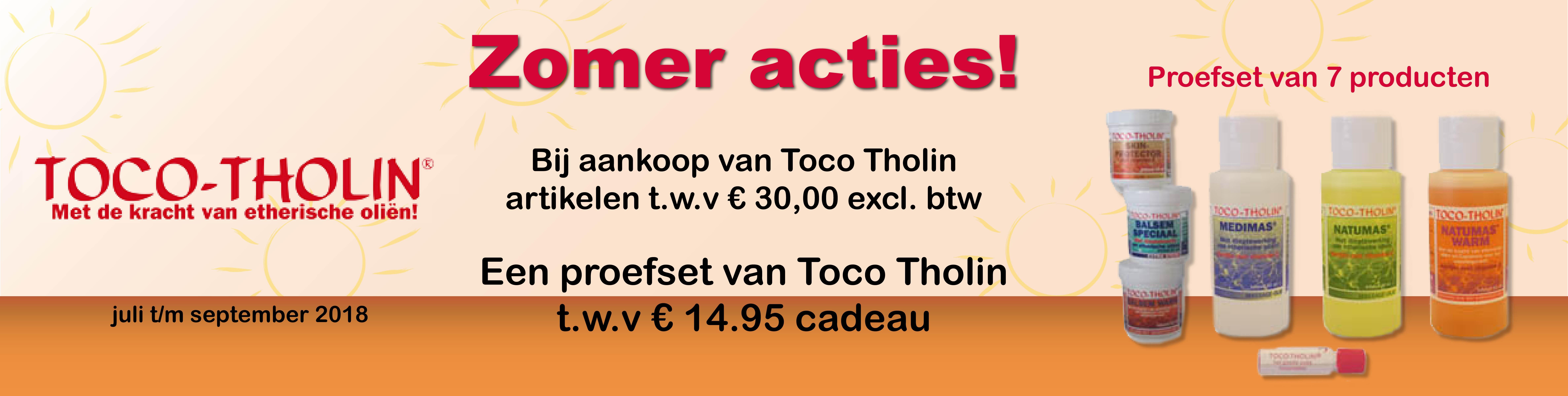 Toco Tholin zomeractie